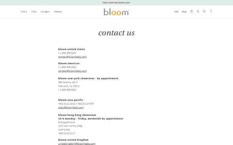 contact us – bloom