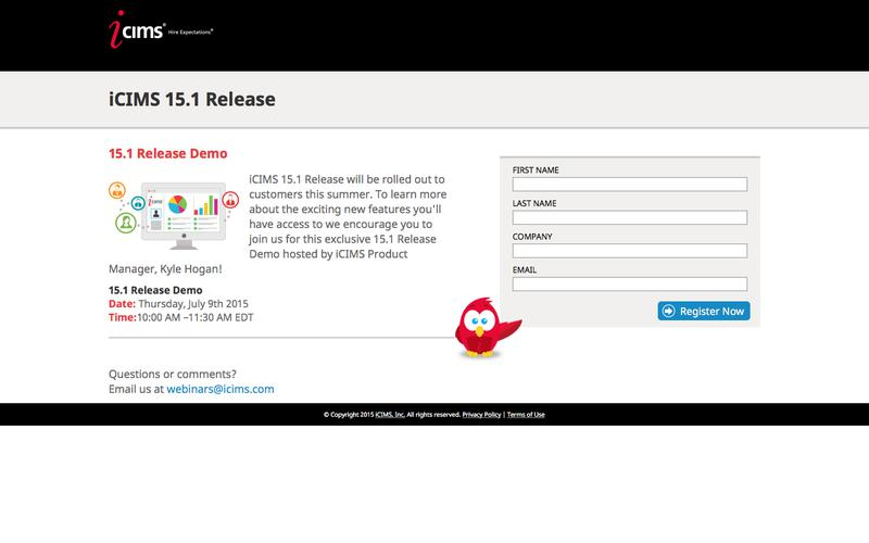 iCIMS 15.1 Release Demo