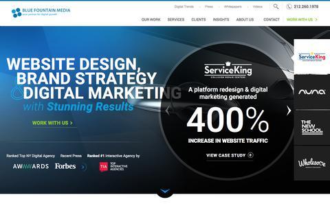 Website Design Company & Digital Agency in NYC | BFM
