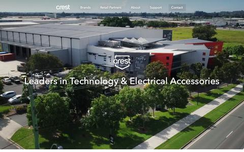 Screenshot of Contact Page crest.com.au - Contact Crest - The Crest Company - captured Sept. 30, 2018