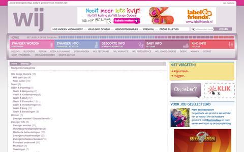 Screenshot of Site Map Page wij.nl - Sitemap | WIJ.nl - captured Sept. 23, 2014