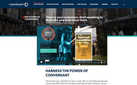 Power of Conversant | Conversant