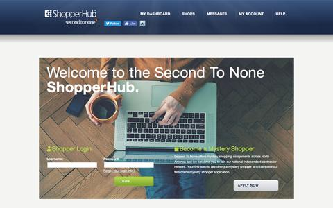 Shopper Hub - Mystery Shopper Hub | Second To None