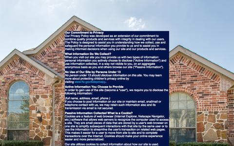 Screenshot of Privacy Page estatechase.com - Plano Home Values Report - What's Your Home Worth? - captured Nov. 18, 2015