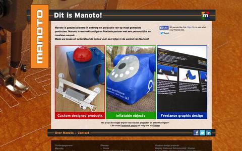 Screenshot of Home Page Press Page manoto.nl - Manoto - captured Sept. 30, 2014