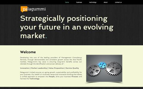 Screenshot of Home Page palagummi.com - palagummi - captured Oct. 1, 2014