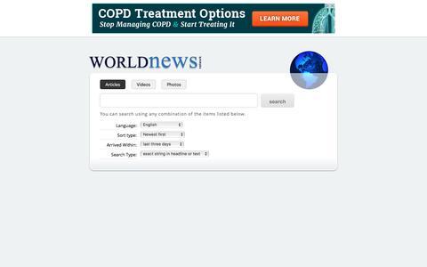 WN.COM advanced search