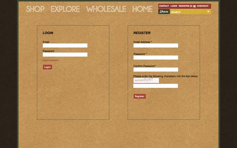 Screenshot of Login Page beansmith.com - Beansmith Coffee   Fresh Roasted in Omaha   Great Coffee Made Better - captured Oct. 5, 2014