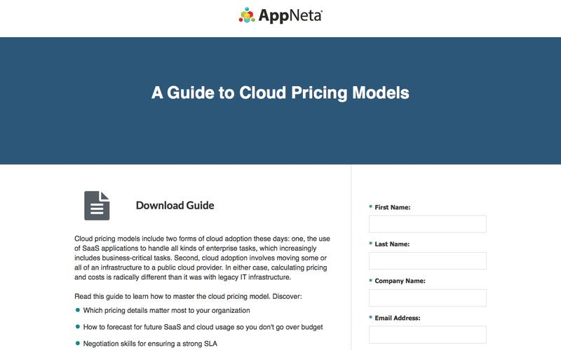 A Guide to Cloud Pricing Models