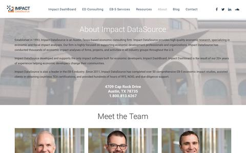 About – Impact DataSource