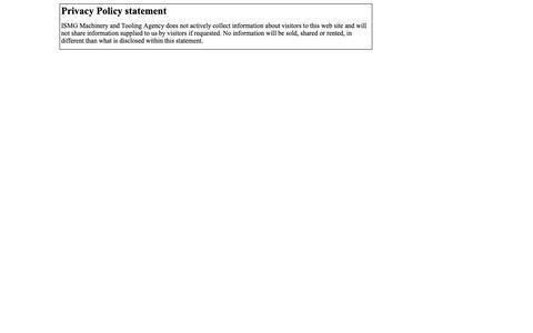 Screenshot of Privacy Page ismgmachinerytoolingagency.com - ISMGMACHINERYTOOLINGAGENCY » Page 6 of 9 - captured Nov. 4, 2018