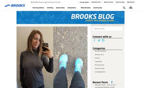 Screenshot of Blog brooksrunning.com - UK Blog - Just another Brooks Blog Sites site - captured Nov. 19, 2017