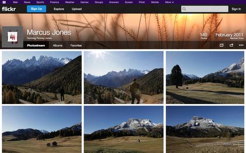 Screenshot of Flickr Page flickr.com - Flickr: Dunning Penney Jones' Photostream - captured Oct. 23, 2014