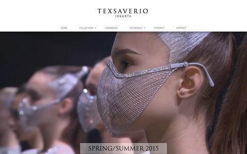 Screenshot of Home Page texsaverio.com - Tex Saverio | www.texsaverio.com - captured Feb. 4, 2016