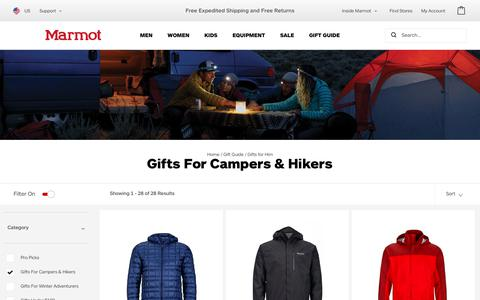 For Campers & Hikers | Marmot.com