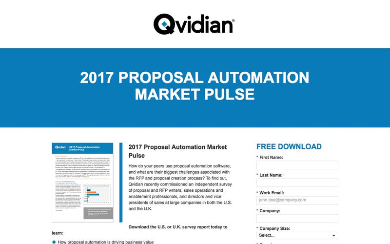2017 Proposal Automation Market Pulse