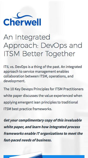 10 Key DevOps Principles for ITSM Practitioners