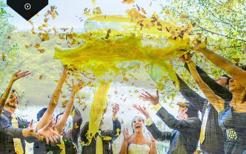 Screenshot of Home Page filisofik.com - Filisofik studio | photographe de mariage, de portrait, d'événement et de sport - captured Oct. 5, 2014