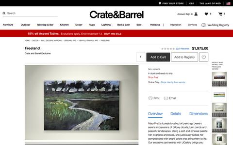 Freeland   Crate and Barrel
