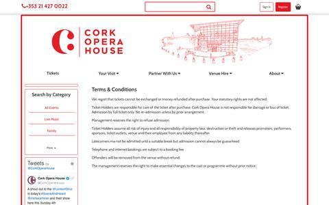 Screenshot of Terms Page corkoperahouse.ie - eSRO web site - captured Nov. 5, 2018