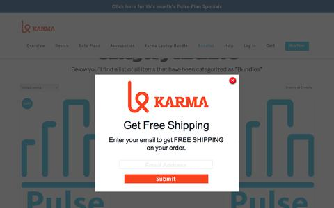 Product Categories  Bundles | Karma