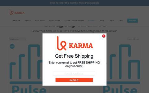 Product Categories  Bundles | Karma