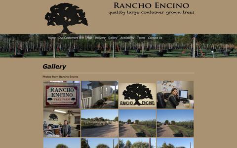 Screenshot of Products Page ranchoencino.com - Rancho Encino - Gallery - captured April 15, 2017