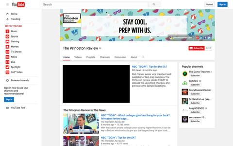 The Princeton Review  - YouTube