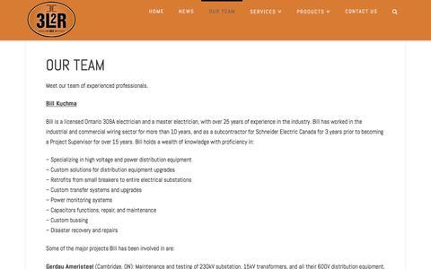 Screenshot of Team Page 3l2r.com - Our Team - 3L2R.com - captured Dec. 12, 2016