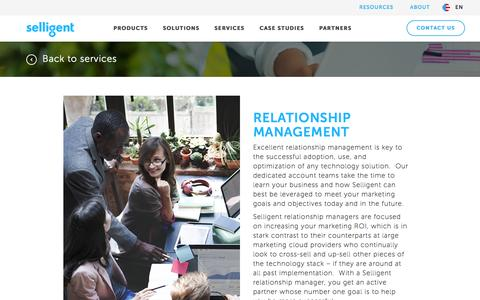 Relationship Management | Selligent