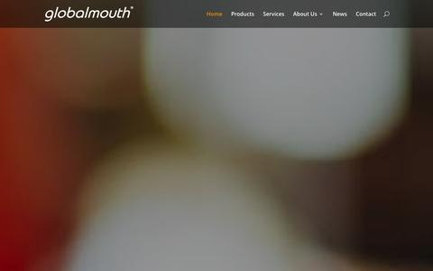 Screenshot of Home Page globalmouth.com - Globalmouth | 360 Go Mobile Agency - captured Jan. 30, 2016