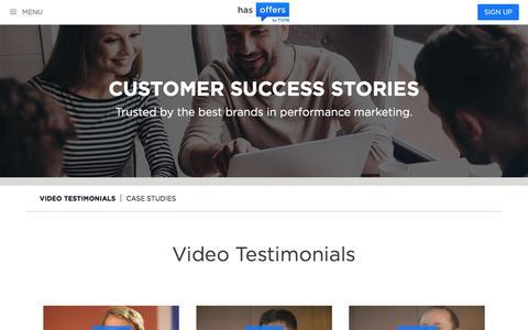 Performance Marketing Customer Success Stories   HasOffers