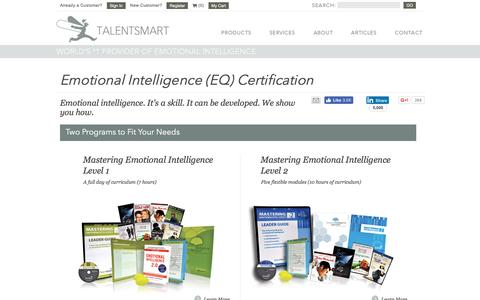 Emotional Intelligence (EQ) Certification | TalentSmart