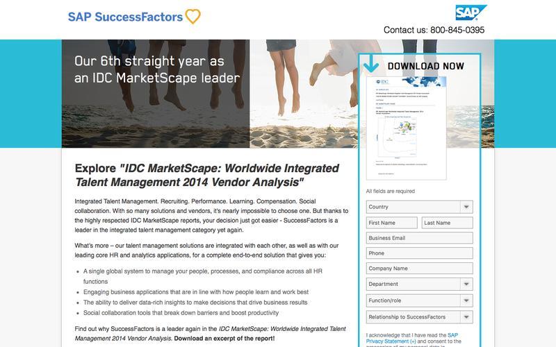 Integrated Talent Management 2014             | SuccessFactors