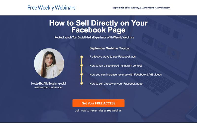 Free Webinars on Social Media & More