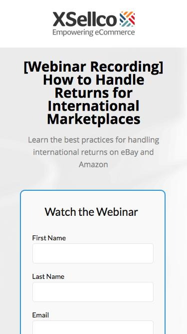 How to Handle Returns for International Marketplaces