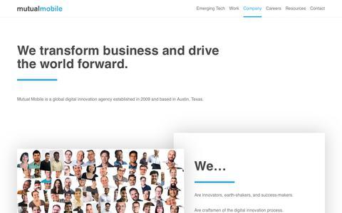Company - Mutual Mobile
