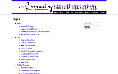 Screenshot of Pricing Page limmudny.org - Limmud NY  Pricing | Limmud NY - captured Sept. 30, 2014