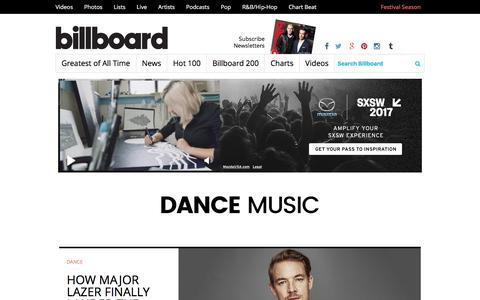 Dance and EDM   Billboard