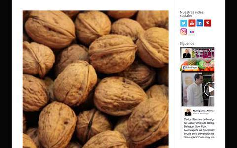 Screenshot of Blog nutrigame.es - Blog - captured Nov. 2, 2017