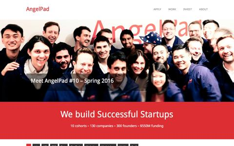 We build Successful Startups - AngelPad