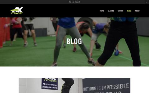Blog — AX Fitness | Athletic Performance Training Gym