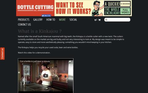 Screenshot of FAQ Page bottlecutting.com - FAQ – Bottle Cutting Inc. - captured Jan. 30, 2017