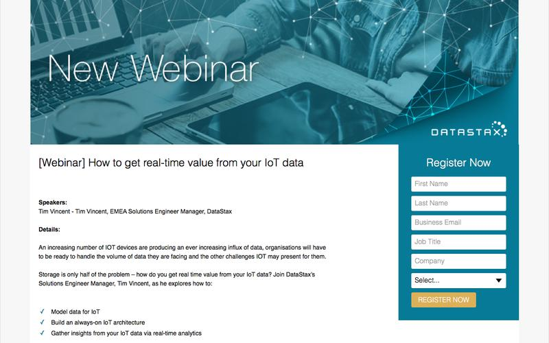 [Webinar] How to get real-time value from your IoT data