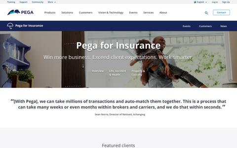 How to Address Your Biggest Insurance Challenges | Pega