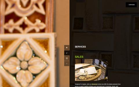 Screenshot of Services Page tileartllc.com - What We Do | - captured Oct. 6, 2014