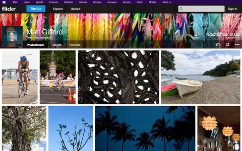Screenshot of Flickr Page flickr.com - Flickr: Timeshifting Interactive's Photostream - captured Oct. 26, 2014