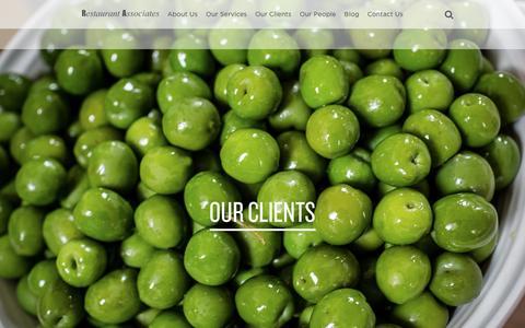 Screenshot of Case Studies Page restaurantassociates.co.uk - Restaurant Associates - captured Nov. 30, 2016
