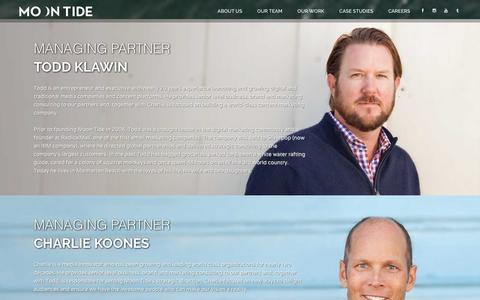 Screenshot of Team Page moontidemedia.com - Moon Tide Media - Team - captured Feb. 24, 2016