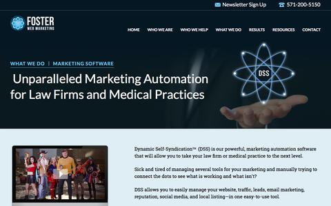Enterprise Legal Marketing Automation Software | Foster Web Marketing